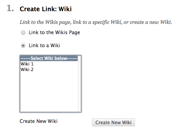 Create link- wiki